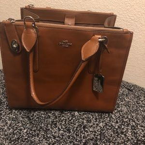 Coach snap side purse